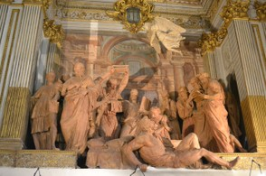 Bolognese artists perfected sculpture in terra cotta.