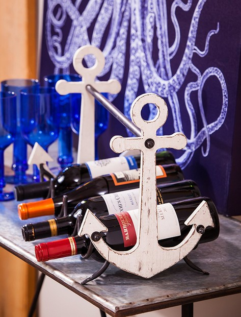 Anchor Nautical Wine Bottle Holder