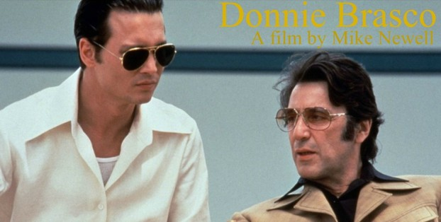 Donnie Brasco Starring Johnny Depp and Al Pacino