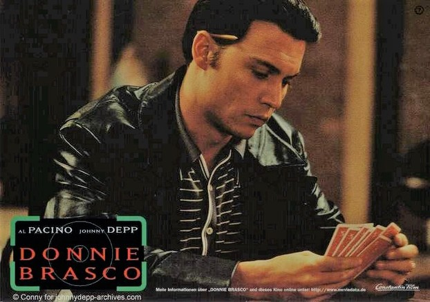 Depp as Donnie Brasco