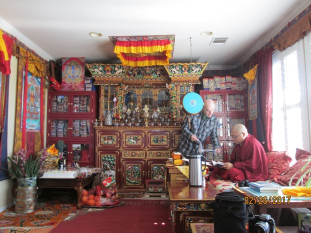 This Year's Losar Ceremony