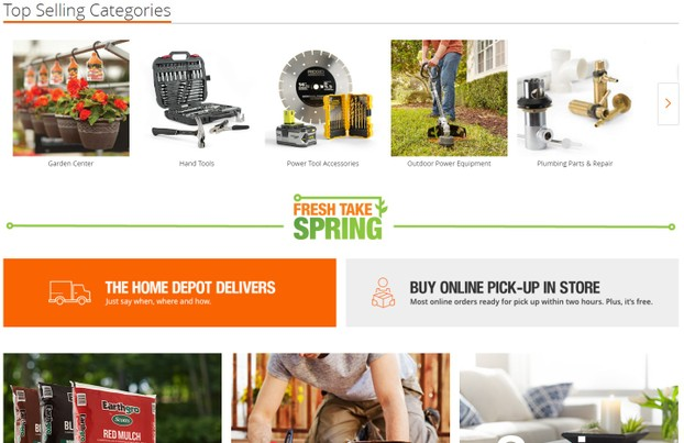 home-depot-website