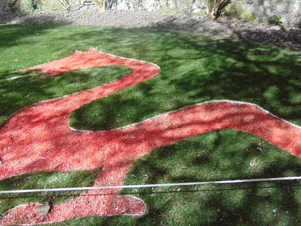 Red dragon parterre