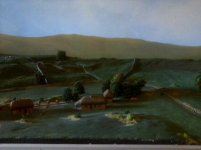 diorama ; early times