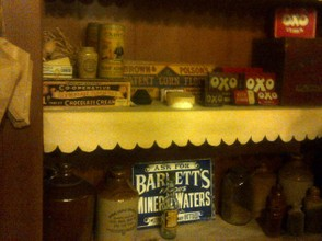 The grocer's shelves