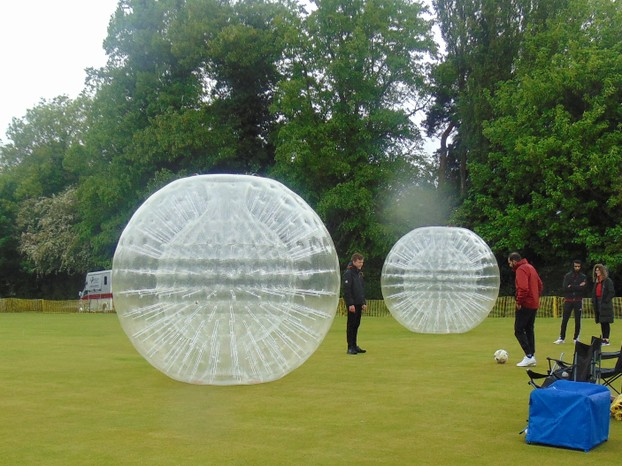 Zorbing Balls but no-one was in them