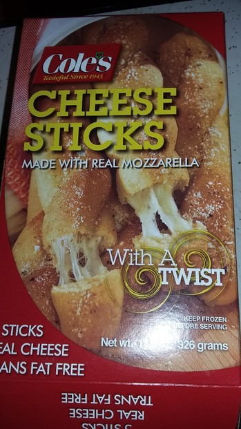 Cole's Cheese Sticks