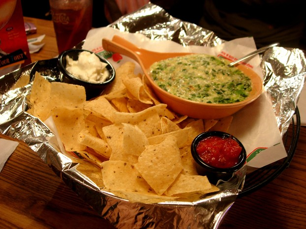 Applebee's Copycat Hot Artichoke and Spinach Dip