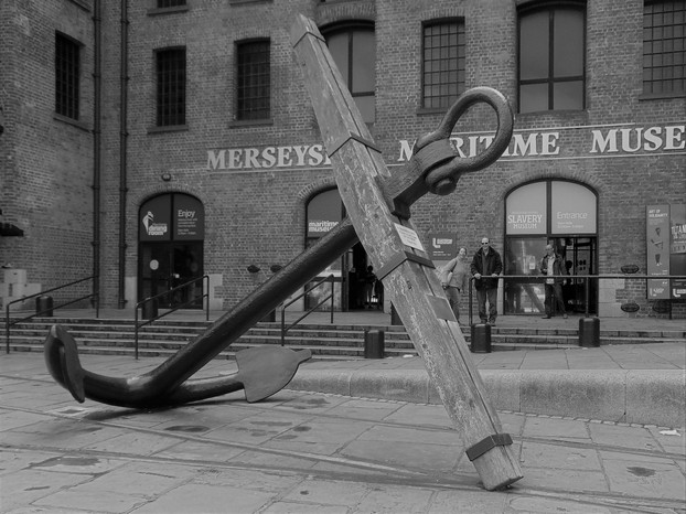 Anchor outside the Slavery Musuem