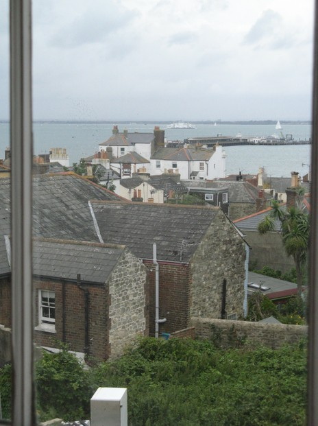 Ryde and its Pier seen from the Wesleyan Chapel in Nelson Street
