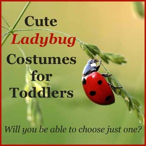 Cute Ladybug Costumes for Toddlers