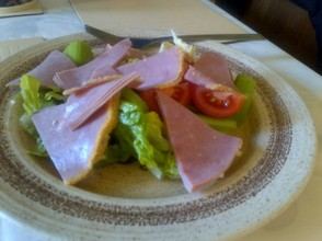 ham salad no oil