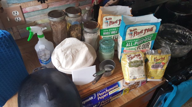 Everything Needed to Make Sourdough Bread