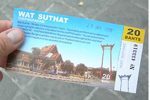 Wat Suthat entry fee