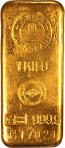 Decorative Gold Bar