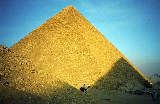Great Pyramid of Giza by Jerzy Strzelecki