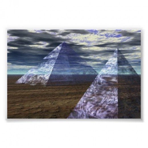 Ghost Pyramids by monsta1