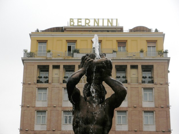 Rome is well-known for its many fountains.
