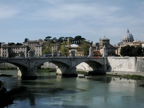 One of the bridges of Rome