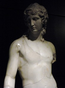 Sculpture on display in the Capitoline Museums