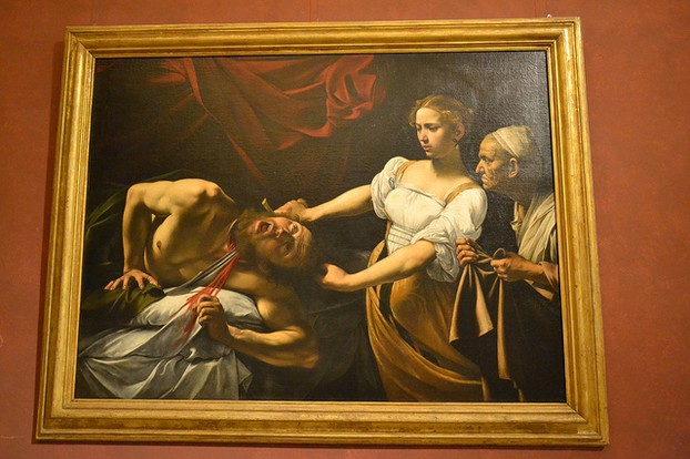 Caravaggio is one of the artists whose work you will find in some of Rome's top museums and galleries.