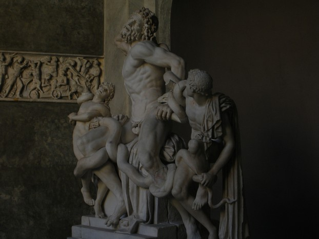 Laocoön and His Sons - at the Vatican Museums