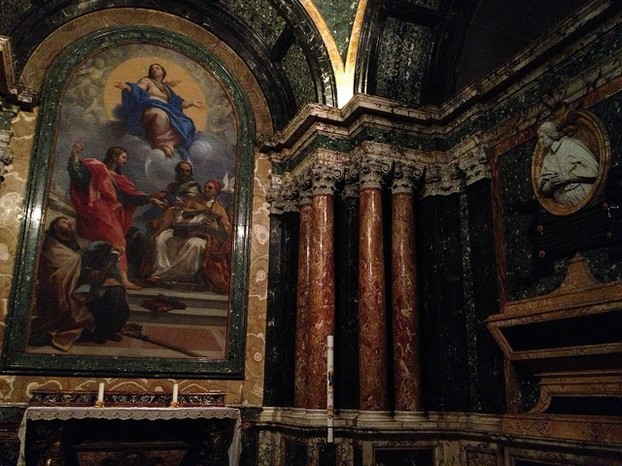 The churches of Rome are rich in art, architecture, wealth and history