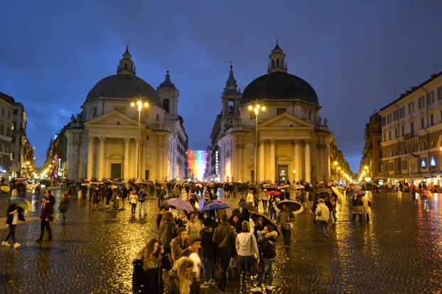 Rome is magical any time of year, and no matter the weather!