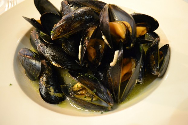 The well-known wild mussels (mosciolo) of Portonovo