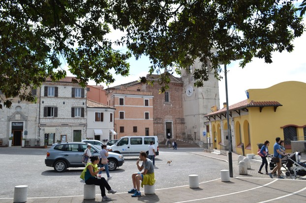 Sirolo is a charming medieval hill town south of Ancona and Portonovo.