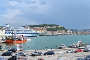 The port of Ancona today