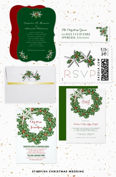 Custom Christmas Wedding