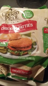 Country Pride Chicken Patties