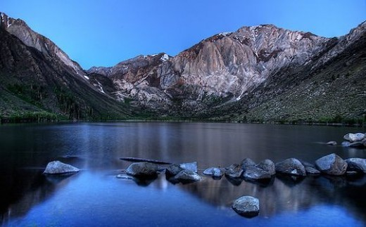 Dawn at Convict Lake