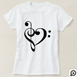 I Heart Music, with G and F clefs