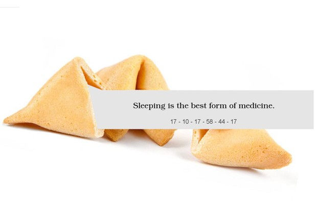 Virtual Fortune Cookie