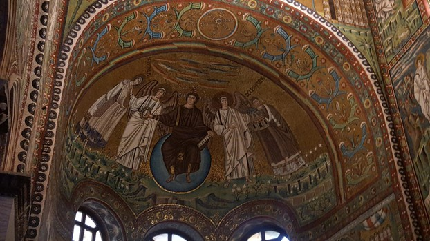 Mosaic art in Ravenna. All photos on this page are property of the author, sockii.