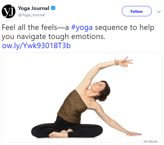 Sianna Sherman's A Creative Sequence to Help You Navigate Tough Emotions, Yoga Journal, March 17, 2016