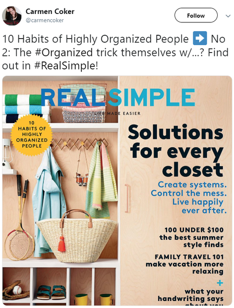 cover of Real Simple's June 2016 issue