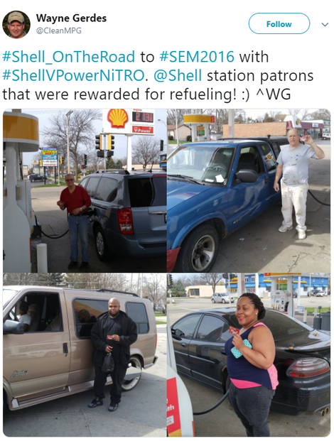 Kroger rewards at participating Shell stations
