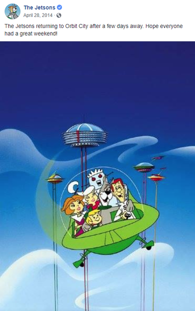 The Jetsons' aerocar had a transparent bubble top.