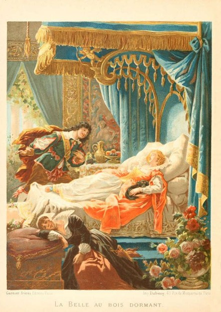 Sleeping Beauty by Frederic Theodore Lix