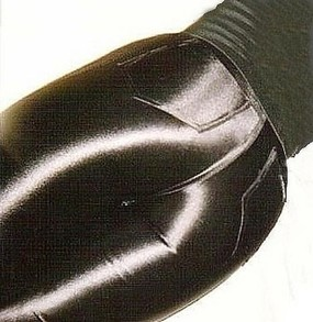 Black Spandex Disco Pants