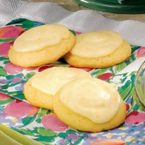 Yummy Orange Cookies With Orange Icing