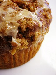Warm Pralines n Cream Muffins
