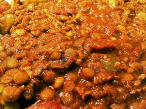 Hearty and rich lentil chili