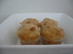 Recipe:  Banana Apple Cinnamon Lunchbox Muffins