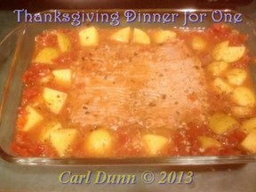 Thanksgiving Recipe for One