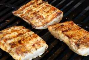 Grilled Mahi Mahi with Grapefruit Marinade