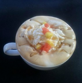 Candy Corn Latte Recipe